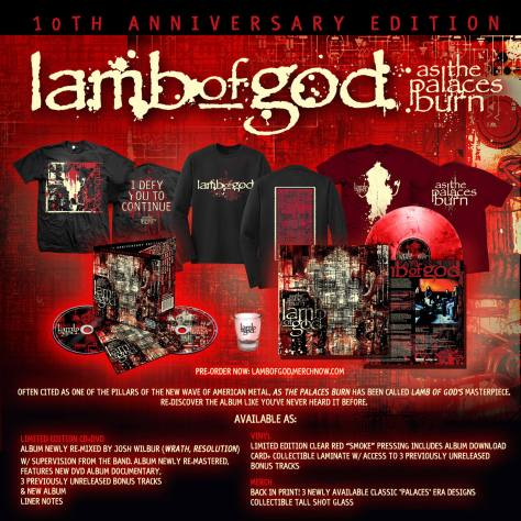 LAMB OF GOD Streaming Re-Mastered Version Of 'Purified ...