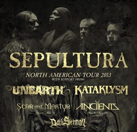 Sepultura-Unearth-Kataklysm-Tour