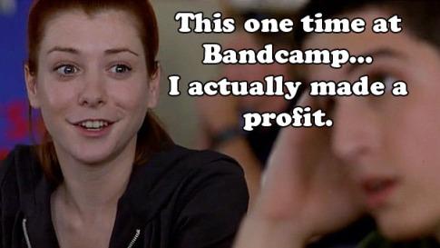 bandcamp copy