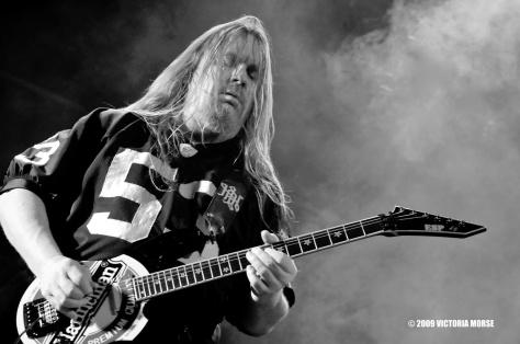 Jeff Hanneman effected