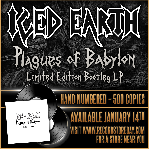 Iced Earth To Release 500 Hand Numbered Plagues Of