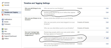 How To Stop Tagged Posts From Showing In The News Feeds Of Facebook Friends